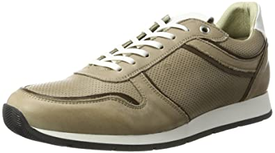 Buffalo David Bitton Buffalo Shoes ES 30901 Garda Chapa, Sneakers Basses Homme, Gris (Tufo 06), 45 EU