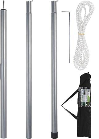 Mat Pour Voile D Ombrage 2 5m Amazon Fr Cuisine Maison