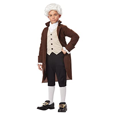 California Costumes Colonial Man/Benjamin Franklin Child Costume, Large: Toys & Games