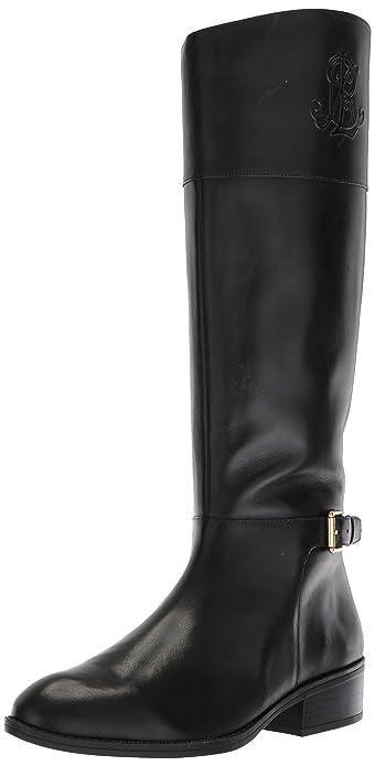 Fashion  Lauren Ralph Lauren Damens's Madisen Fashion  Boot, schwarz ... c90823