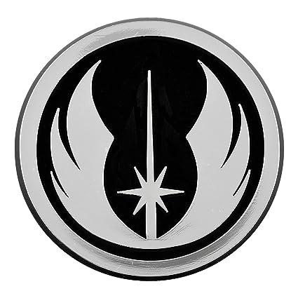 Amazon Jedi Order Logo Chrome Auto Emblem 3 X 3 Automotive