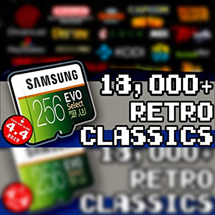 256 GB Retropie 4 4 SD Card - Loaded Collection with Video Previews & 3D  Boxart