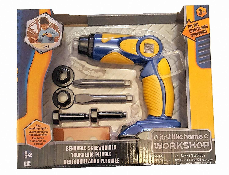 Just Like Home Workshop Bendable Screwdriver Set