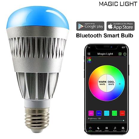 MagicLight Pro Bluetooth Smart LED Light Bulb - Smartphone ...
