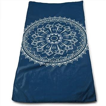 Liumiang Exotic Bath Toalla Mandala Made Quick Drying Hand Toalla Tie-Dye Kitchen Toalla Cleaning Toalla: Amazon.es: Hogar