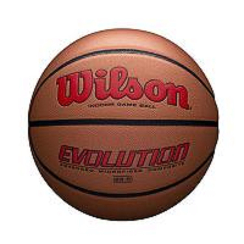 Wilson Evolution公式サイズゲームバスケットボール – スカーレット B078NGQPBH