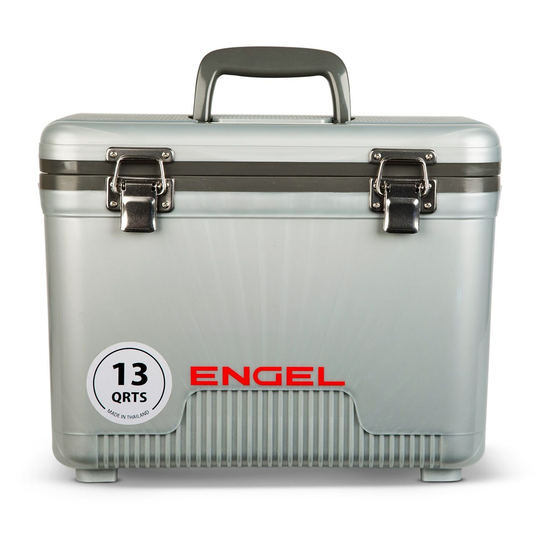Engel Kühler 13qt Leicht, Wasser Tight Kühler Drybox & Lunchbox, Silber