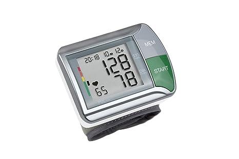Medisana HGN - Tensiómetro de muñeca, con función semáforo, color gris plateado