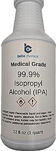 Medical Grade Isopropyl Alcohol 99.9% (32oz)
