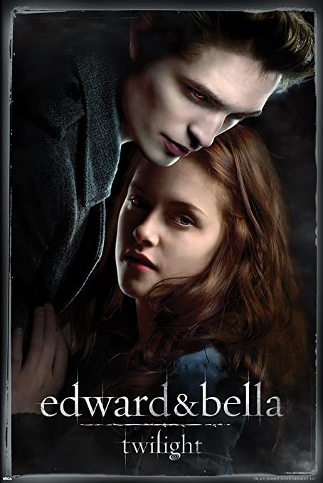 Pyramid America Twilight Edward and Bella Poster, 22 by 34-Inch