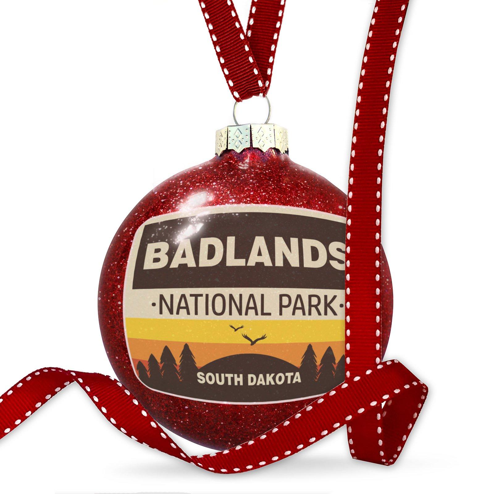 Christmas Decoration National Park Badlands Ornament