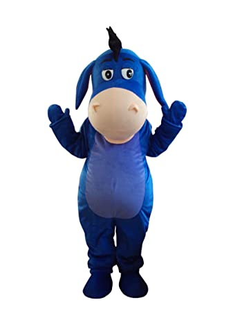 Donkey Eeyore Winnie The poohu0027s Friend Adult Mascot Costume Fancy Dress Outfit  sc 1 st  Amazon.com & Amazon.com: Donkey Eeyore Winnie The poohu0027s Friend Adult Mascot ...
