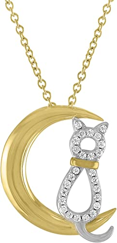 Sterling Silver Cat with heart Charm I love Cats Pendant for Child/'s Necklace