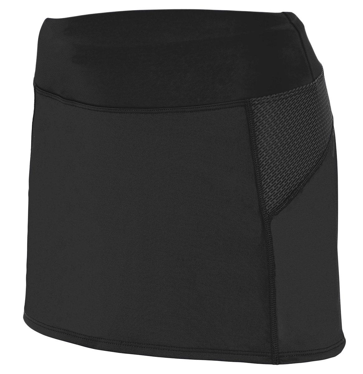 Augusta Sportswear Women's Femfit Skort - Black/Graphite 2420A XL