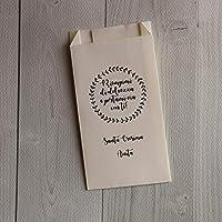 50 sacchetti confettata personalizzabili