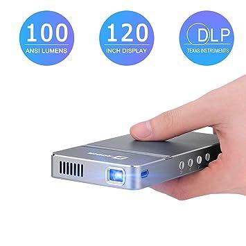 AODIN AirGo Proyector de video LED de 100 lúmenes ANSI WiFi Mini ...