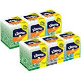 Kimberly-Clark Professional Kleenex Anti-Viral Facial Tissue Cube ( Pack of 6)