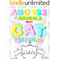 My First Animals ABC and 123 with Cat Unicorn picture book: Learning to Count Numbers and Alphabet with Animals for Toddler and Preschool