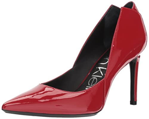 Calvin Klein Women'S Randa Pump Calvin Klein Red High Heels Shoes
