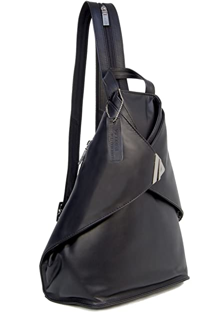 19bb2f9fd32e Visconti Back Pack Handbag - Atlantic 18258 Brooke (L) - Leather - Black