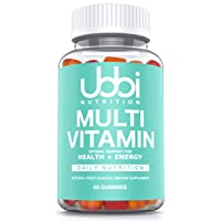 Premium Multi Vitamin Gummies by Ubbi Nutrition, Chewable for Adults, Men and Women...
