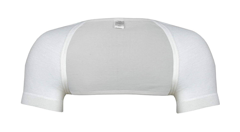 wobera Angora Schulterwärmer mit ½ Arm aus Angora, Schurwolle und Polyamid