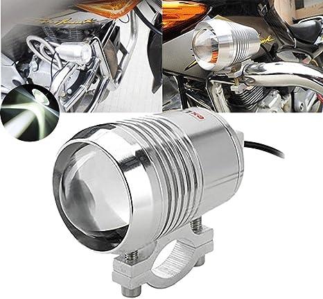 Amazon.com: TUINCYN U3 Lámpara LED para motocicleta, faro ...