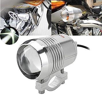 TUINCYN Motorcycle LED Spotlight 30W CREE U2 U3 Spot Light with Aliminium Alloy Housing 6000K 7000K Bright Motor Running Light Lamp Beam Light 1-pack
