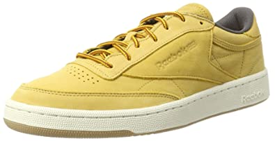 383650aee9bfed Reebok Men s Club C 85 Wp Gymnastics Shoes  Amazon.co.uk  Shoes   Bags