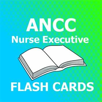 amazon com flashcard for ancc nurse executive 2018 ed appstore for