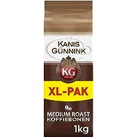 Kanis & Gunnink Koffiebonen Voordeelverpakking (4 Kilogram, Intensiteit 05/09, Medium Roast Koffie), 4 x 1000 Gram Bonen