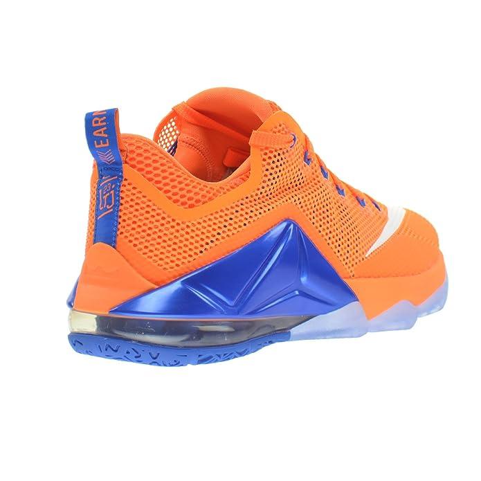 66e3b430de9f Nike Lebron XII Low Hardwood Classic Mens  Shoes Bright Citrus White-Total  Orange-Soar 724557-838 (11 D(M) US)  Amazon.ca  Shoes   Handbags