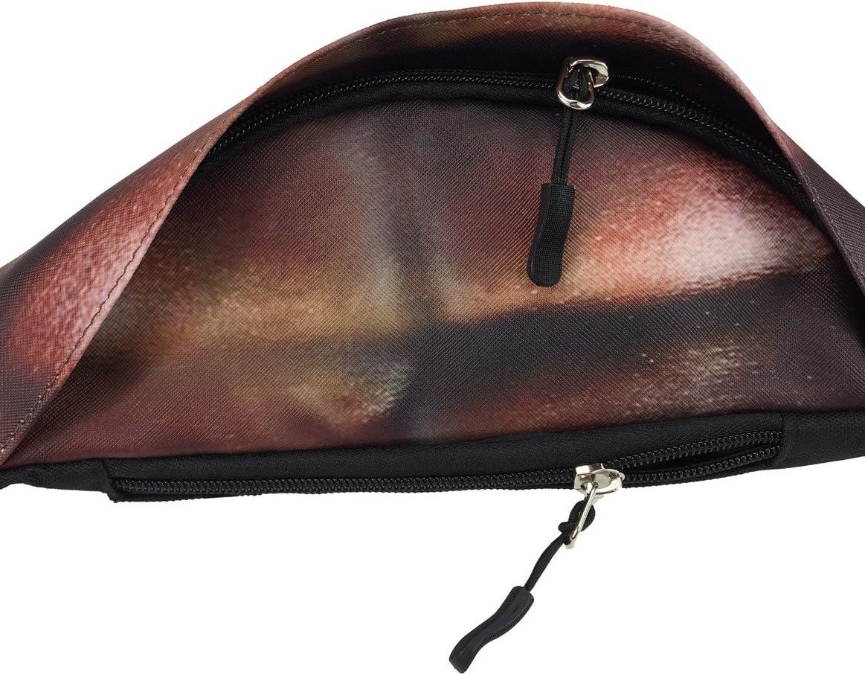 Beer Belly Waist Bag Funny Pack 3D Dad Bag White Elephant Adjustable Sport Travel Pack for Men Women