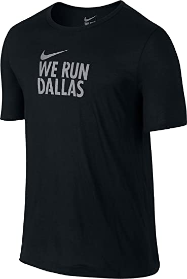 Nike We Run Dallas Wing Back Men's Dri-FIT Cotton Blend T-Shirt (