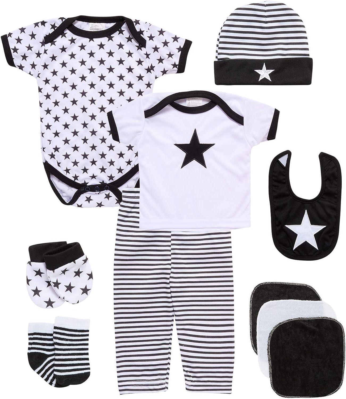 Sweet & Soft Baby Gift Set - 10 Piece Take Me Home Newborn Essentials Layette Set