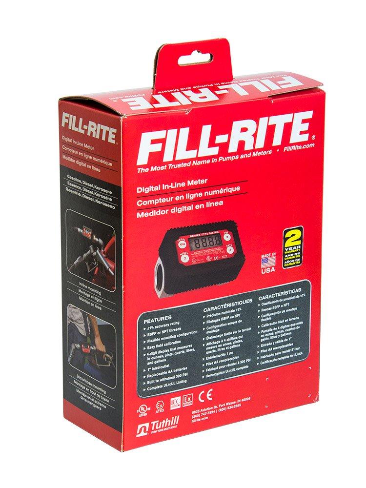 Fill-Rite TT10AN 2-35 GPM Inline Digital Turbine Fuel Meter