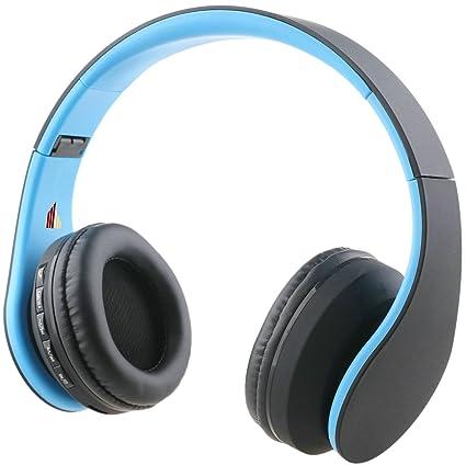 irunzo en Ear estéreo auriculares Bluetooth 3.0 Inalámbrico Plegable auriculares con micrófono Super Bass 3,