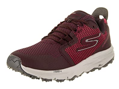 3ffbf42a182f Skechers GOtrail 2 WOM Shoe Burgundy 11. 0 B  Amazon.in  Shoes   Handbags