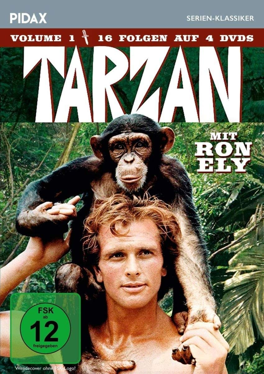Tarzan, Vol. 1 / 16 Folgen der Kultserie mit Ron Ely Pidax ...