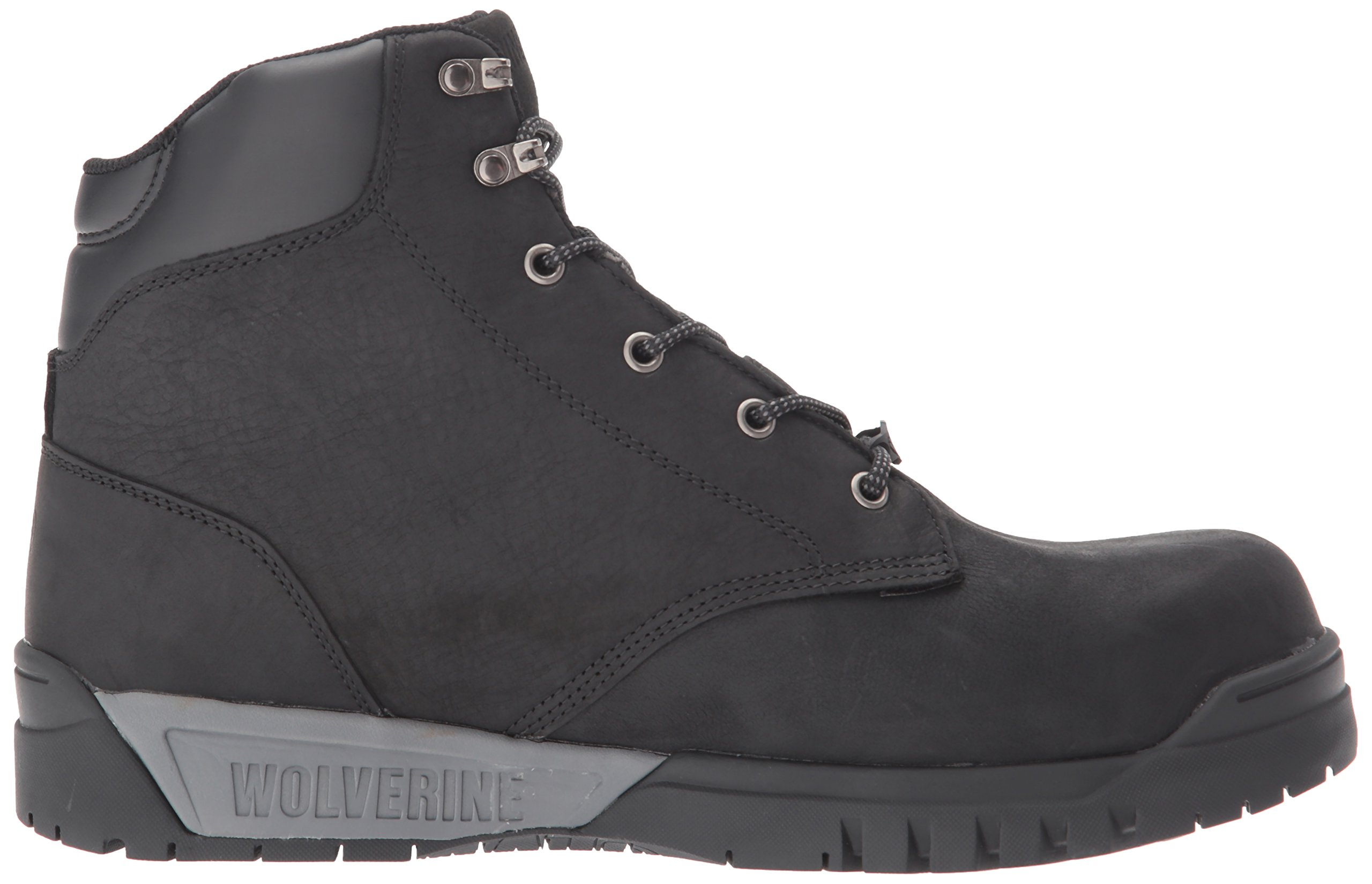 Wolverine Men's Mauler LX Composite Toe Waterproof Work Boot Black 7 W US by Wolverine (Image #7)