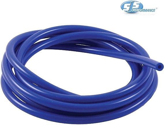 Sfs 1 Meter Blau Silikon Unterdruckschlauch Turbo Gummischlauch Luft Wasser Leitung 5mm Auto
