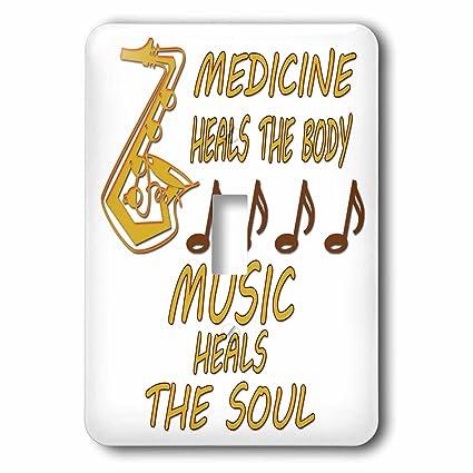 3drose Rinapiro Music Quotes Medicine Heals The Body Music