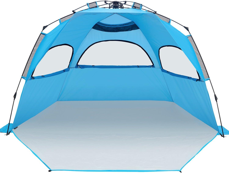 [XXL]Outdoors Easy Up Beach Tent Sun Shelter Ylovetoys Anti UV Beach Shelter  sc 1 st  Amazon.com & Camping Sun Shelters | Amazon.com