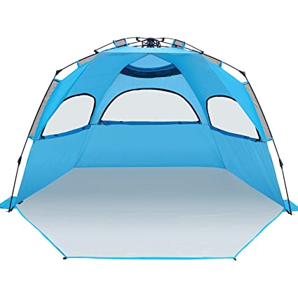 [XXL] Outdoors Easy Up Beach Tent Sun Shelter Ylovetoys Anti UV Beach Shelter  sc 1 st  Amazon.com & Amazon.com: [XXL] Outdoors Easy Up Beach Tent Sun Shelter ...