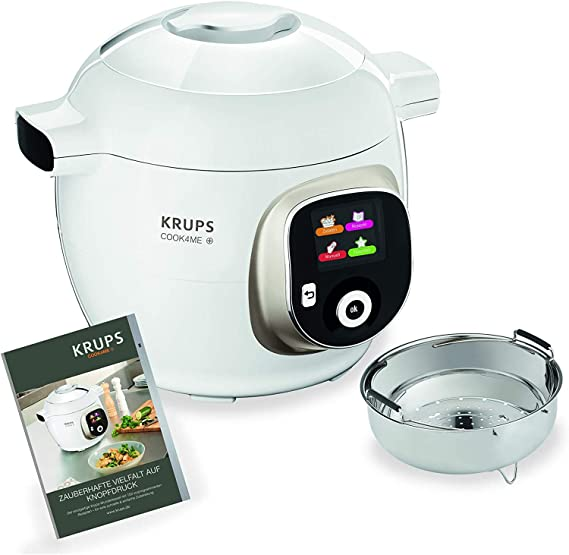 Krups cz7101 Multi eléctrica cook4me Plus, 4 L, 1200 W, color ...