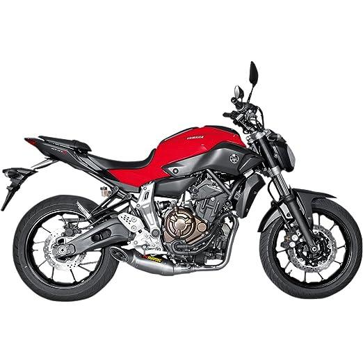 15 17 Yamaha Fz07 Akrapovic Racing Full System Exhaust Homologatedtitanium