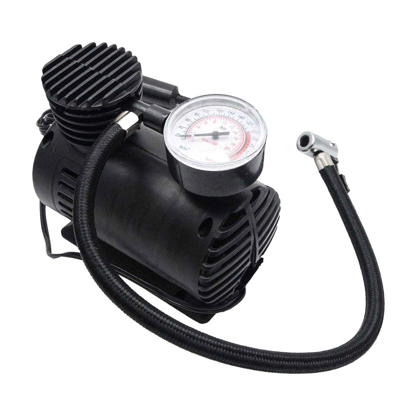 SALAKA Mini Bomba de compresor de Aire Bomba de inflado de presi/ón de neum/áticos de 12 V Compresores de Aire port/átiles para Coche Bomba con man/ómetro 300 PSI