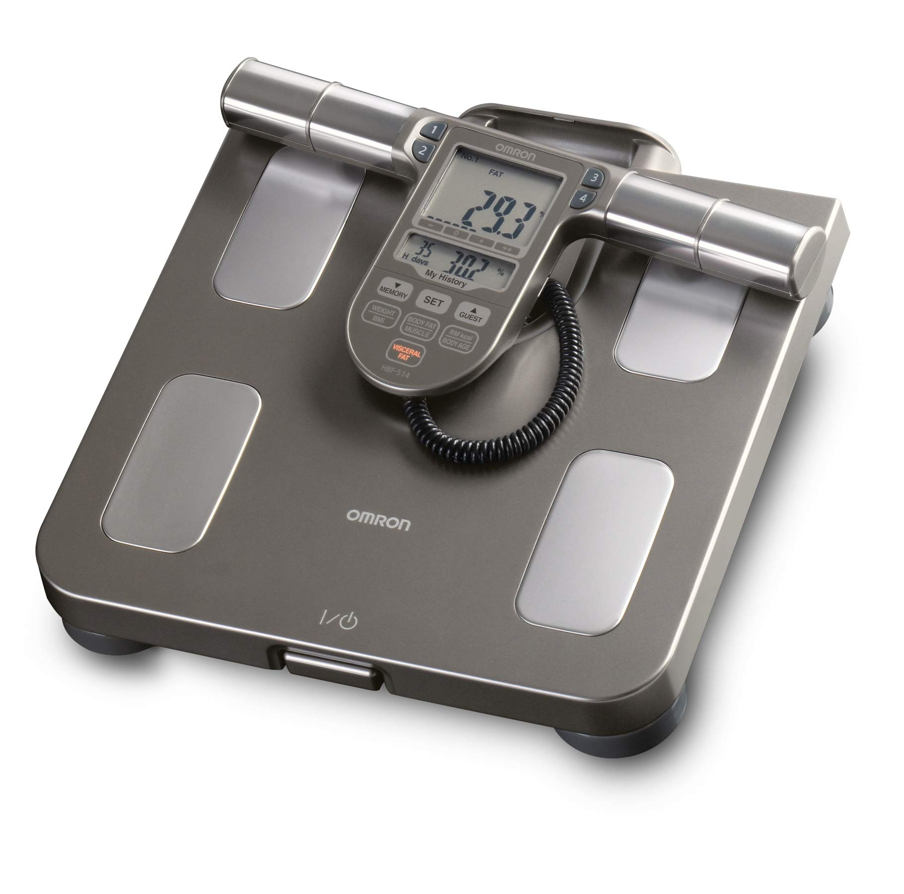 Omron Body Composition Monitor with Scale - 7 Fitness Indicators & 90-Day Memory by Omron