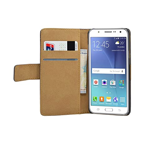 samsung flip custodia agenda in morbida ecopelle