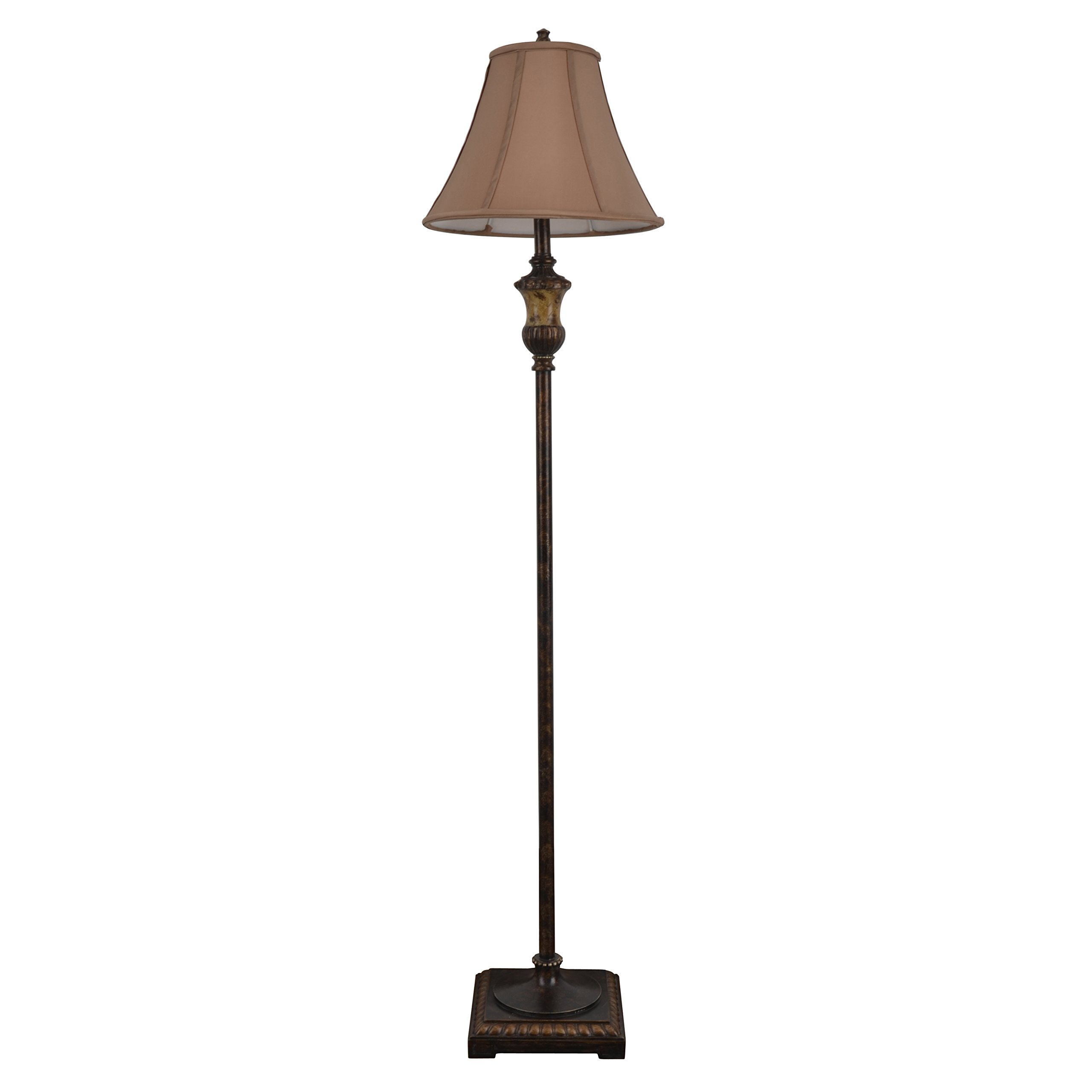 Décor Therapy PL1647 Golden Bronze Floor Lamp, 15'' x 15'' x 15''